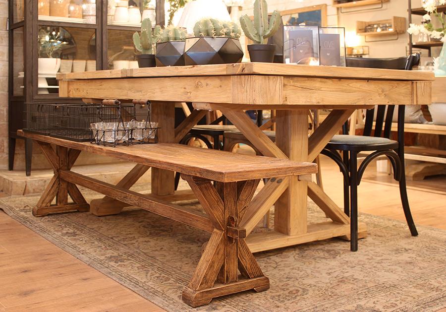 שולחן אבירים רגל איקס