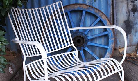 כסא נוח ברזל