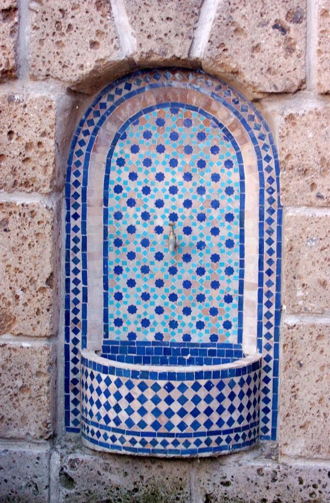 מזרקת הפסיפס המרוקאית תעניק טאץ