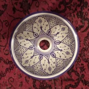 כיור מרוקאי מצויר