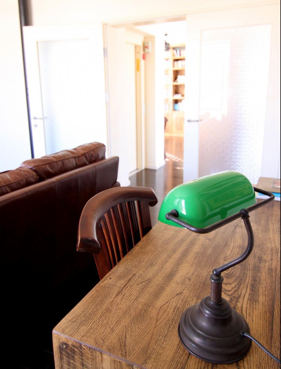 מנורת קריאה רטרו ירוקה
