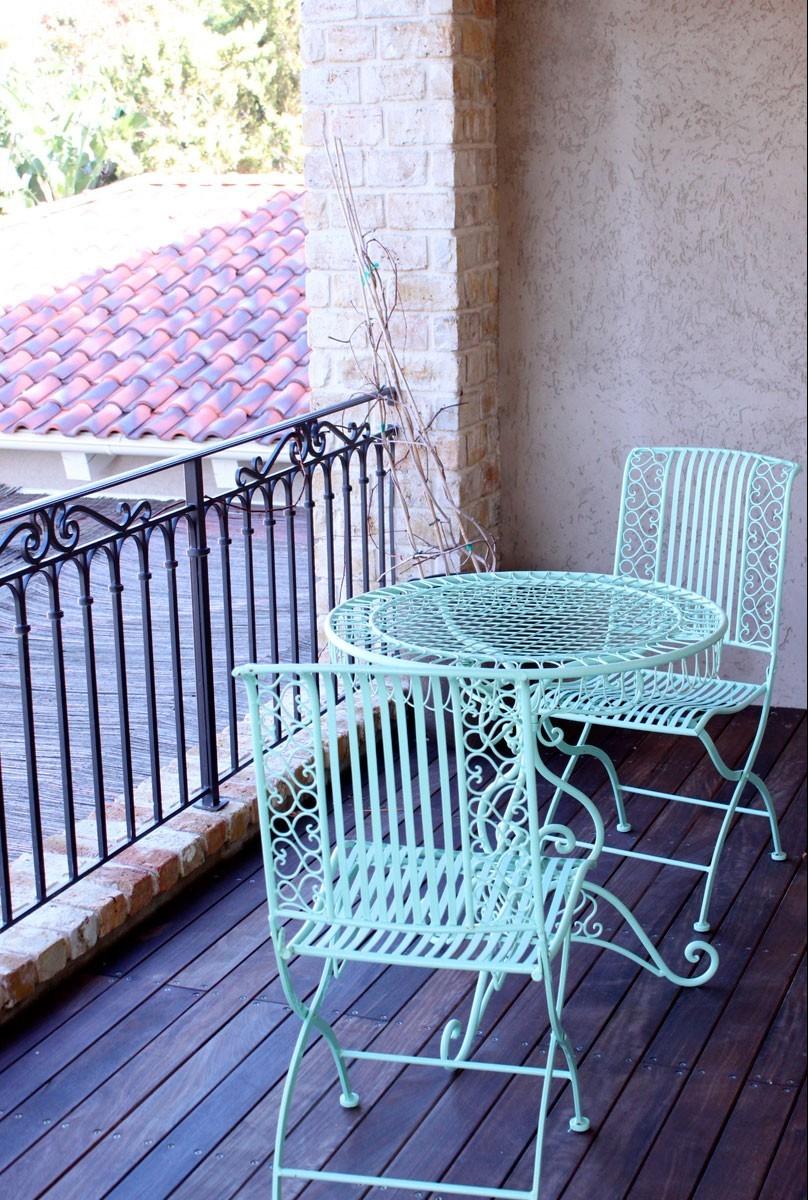 פינת ישיבה למרפסת