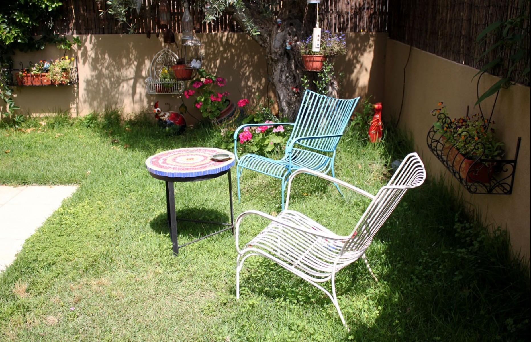 כסאות נוח לגינה מברזל
