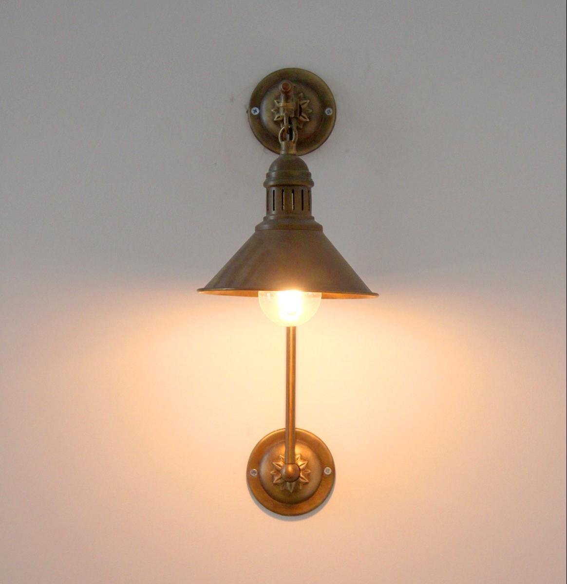 מנורת פליז איכותי