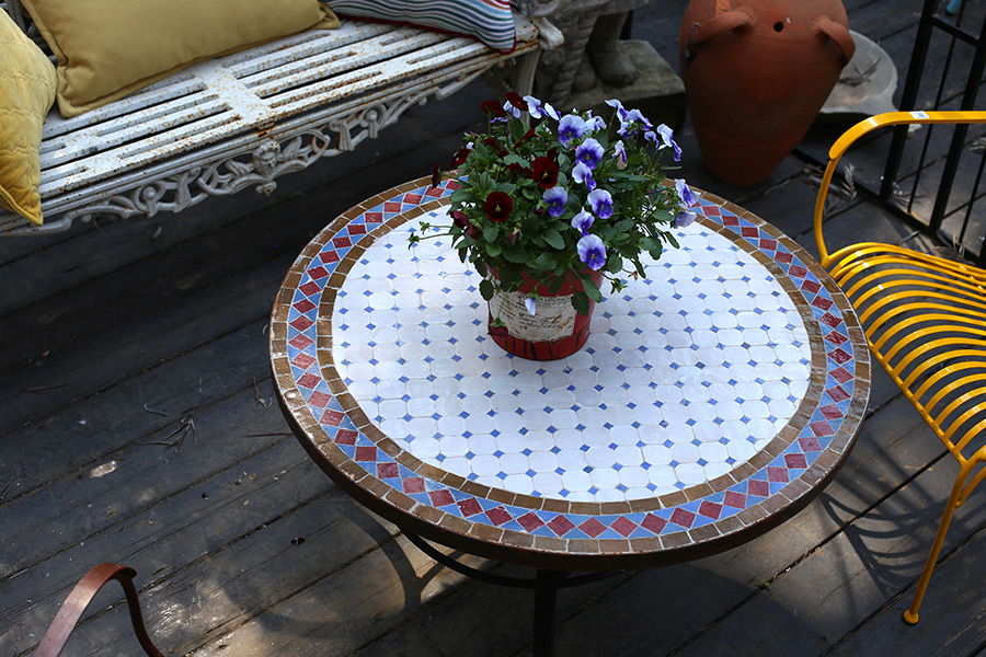 שולחן פסיפס