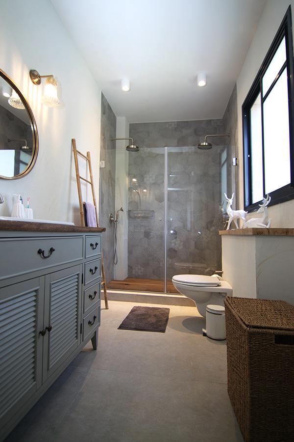 מקלחת הורים מעוצבת