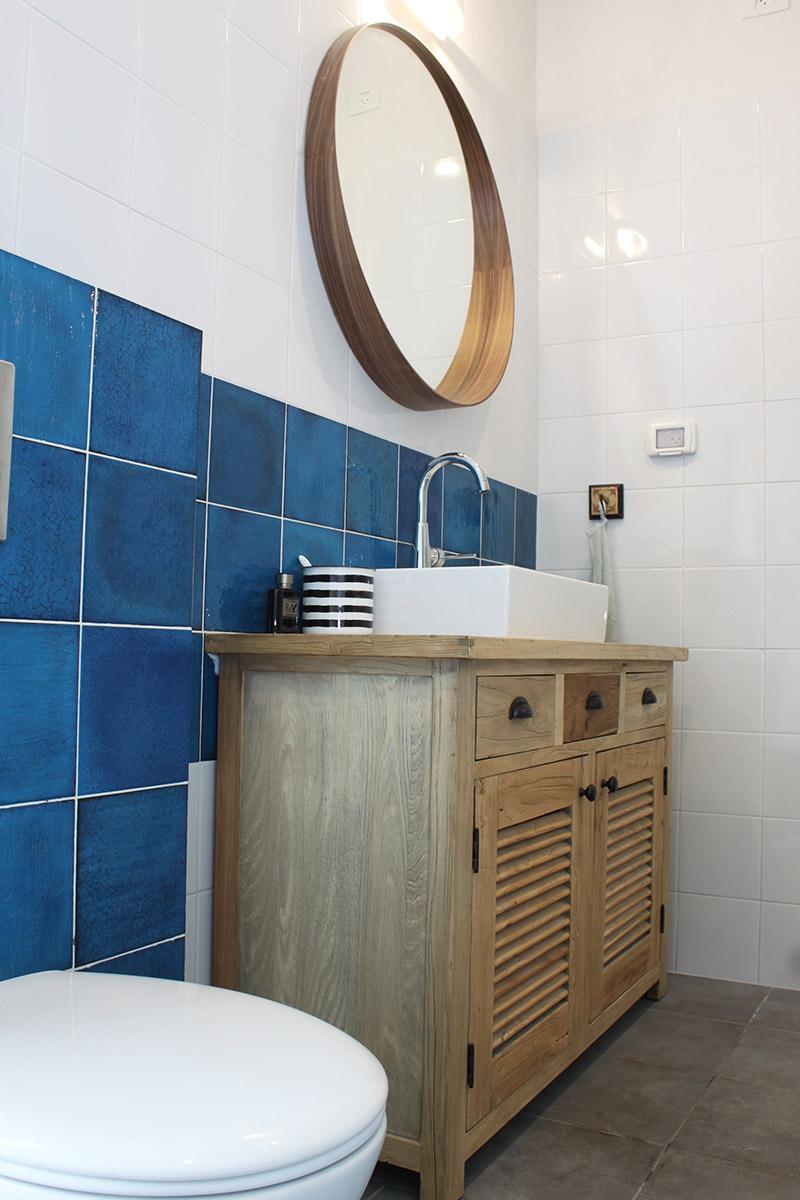 שידת אמבטיה מעץ ELM
