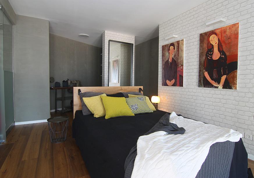 חדר שינה בגלריה