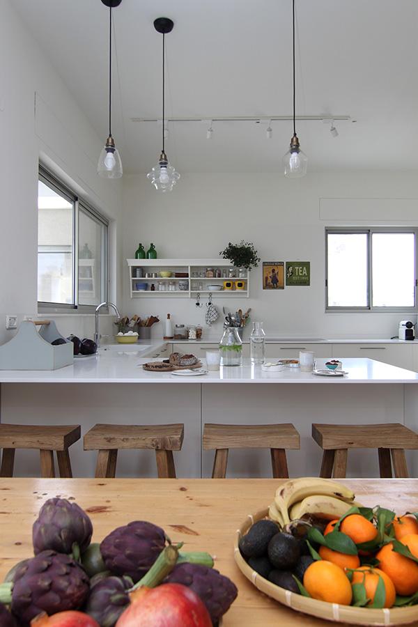 תאורה תלויה במטבח