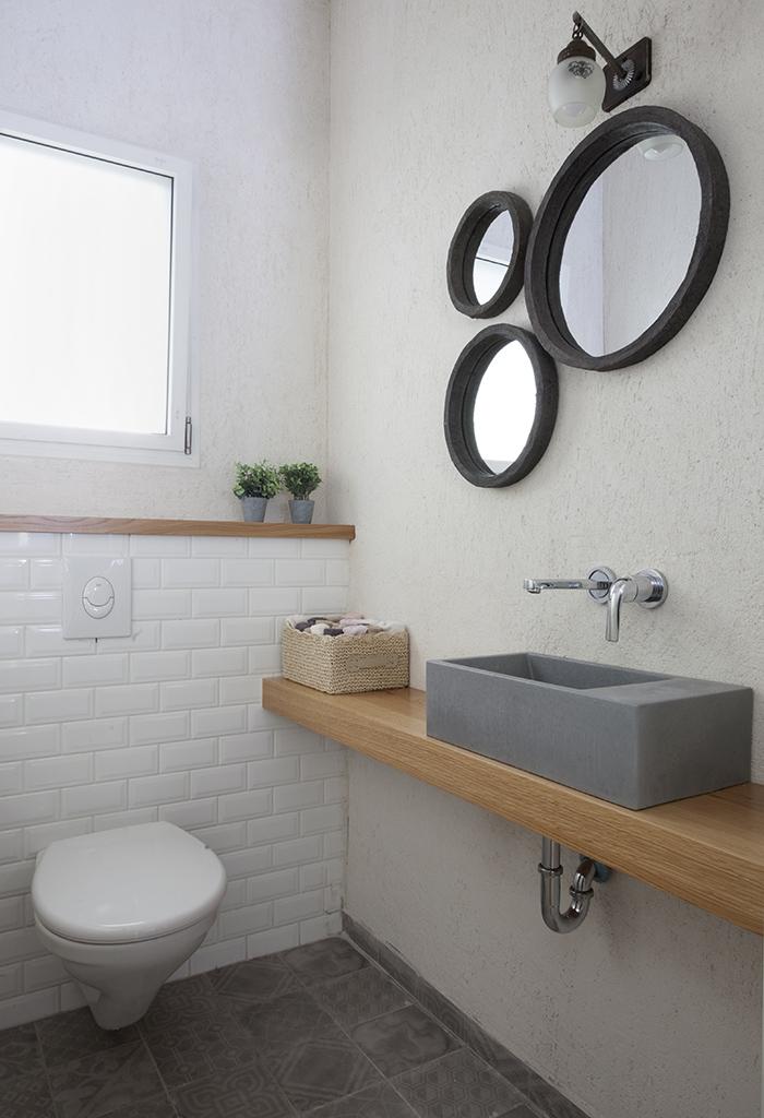 מראות עגולות לחדר האמבטיה