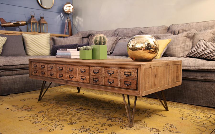 שולחן סלון מגרות
