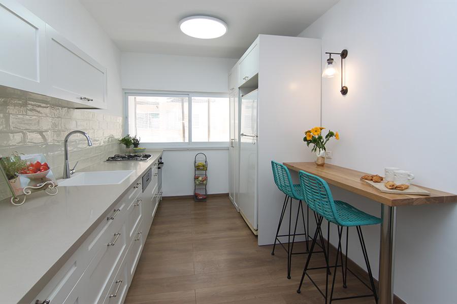 תאורת קיר במטבח