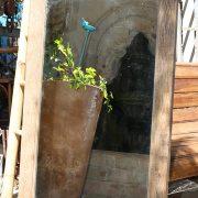 מראה מעץ ממוחזר