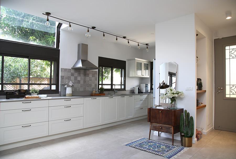 תאורת ספוטים למטבח