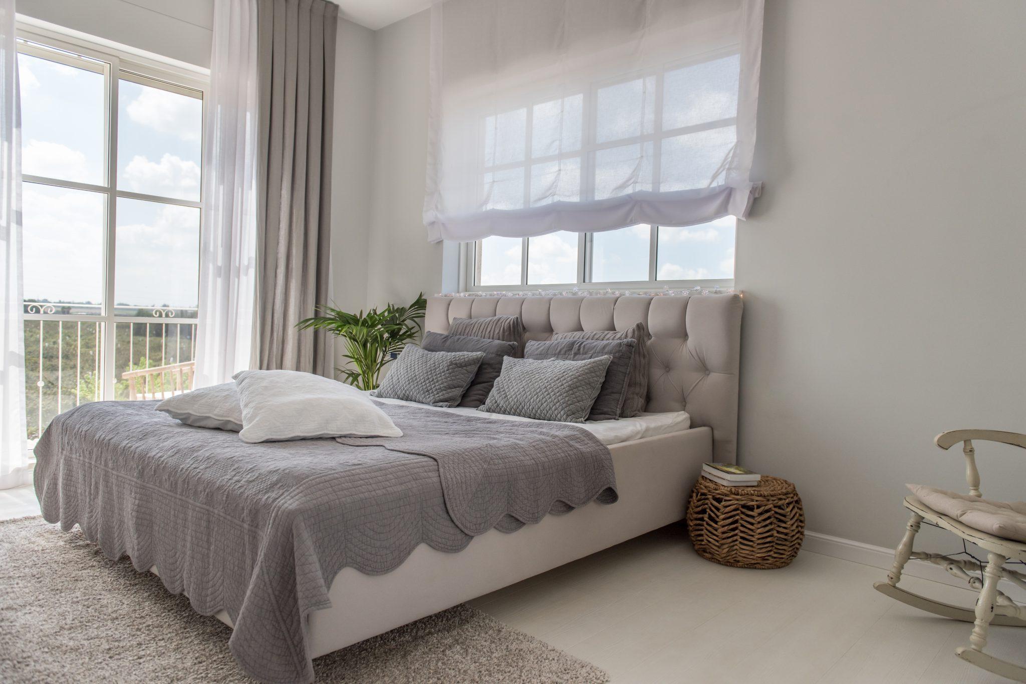 חדר שינה מרווח