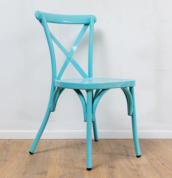 כסא איקס אלומיניום לגינה