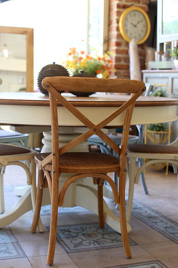 כסא איקס מעץ טבעי