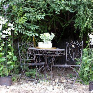 סט ישיבה לגינה מברזל