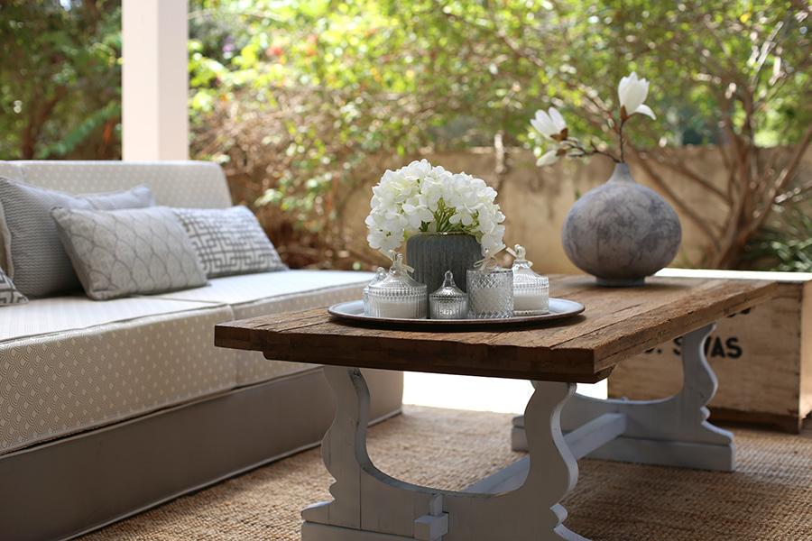 שולחן עץ סלון