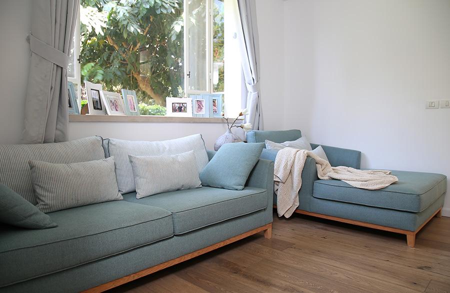 ספה מעוצבת לפי מידה