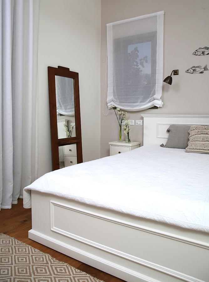 חדר שינה כפרי