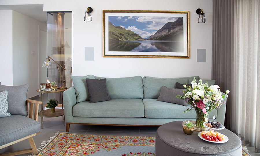 ספה בעיצוב אישי