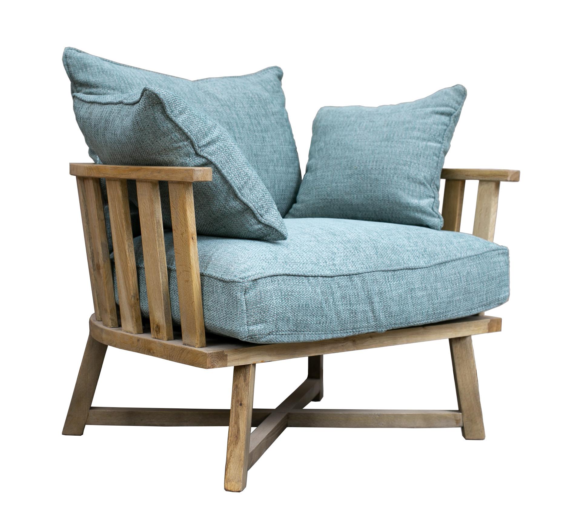 כורסא מעוצבת עץ מלא דגם ג'רי