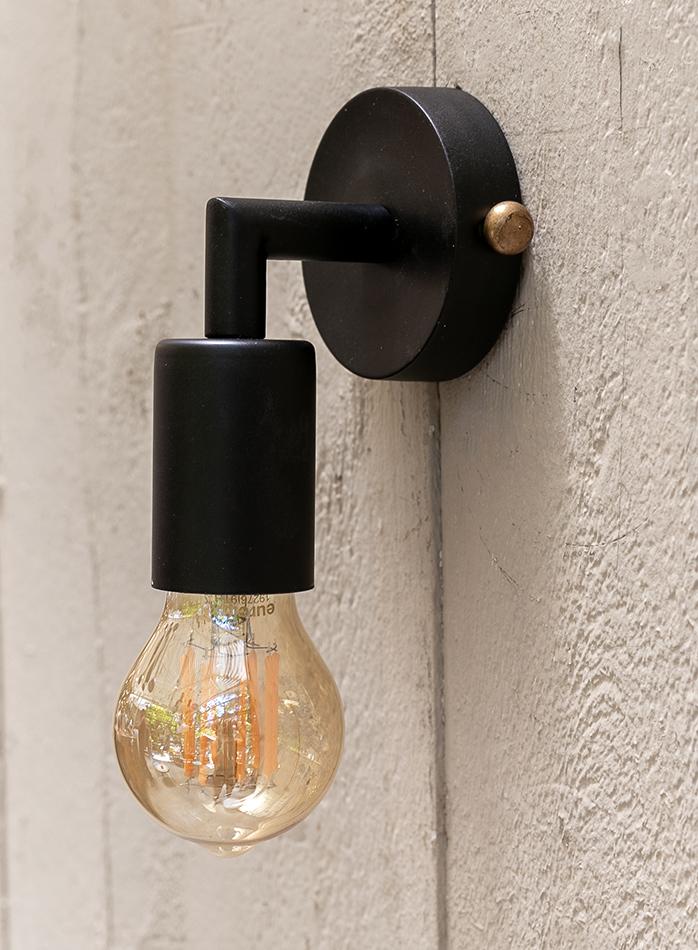 מנורת קיר דגם BLACK DOTTY