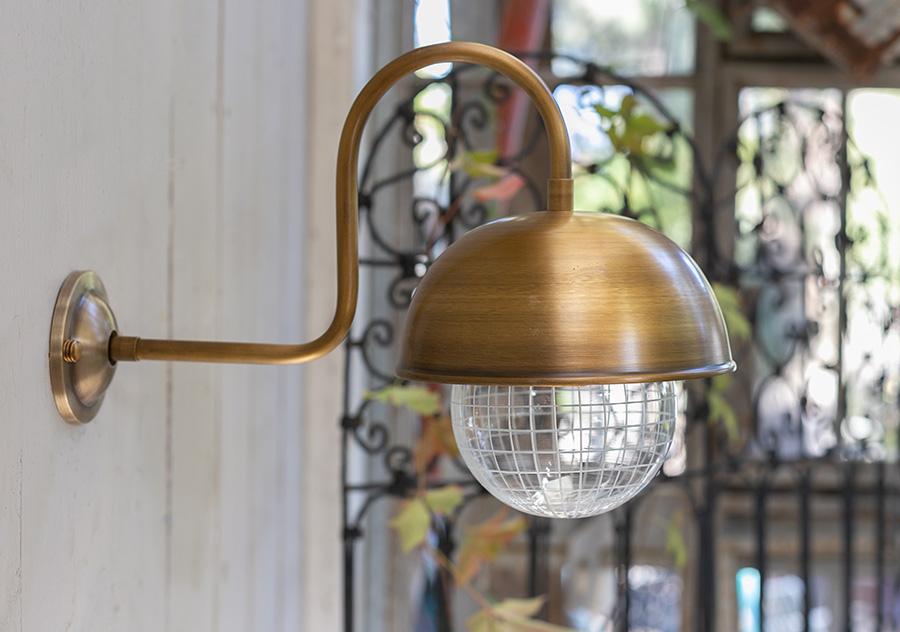 מנורת חוץ פליז דגם 0696
