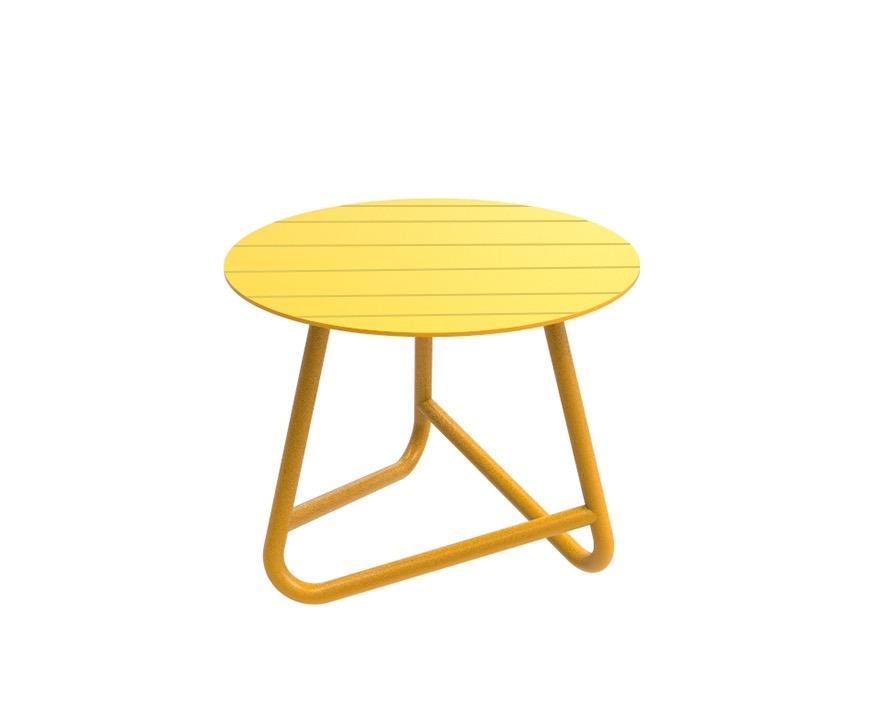 שולחן נמוך לגינה