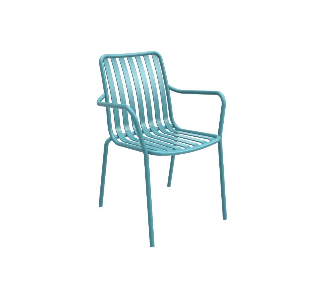 כסא אלומיניום לגינה