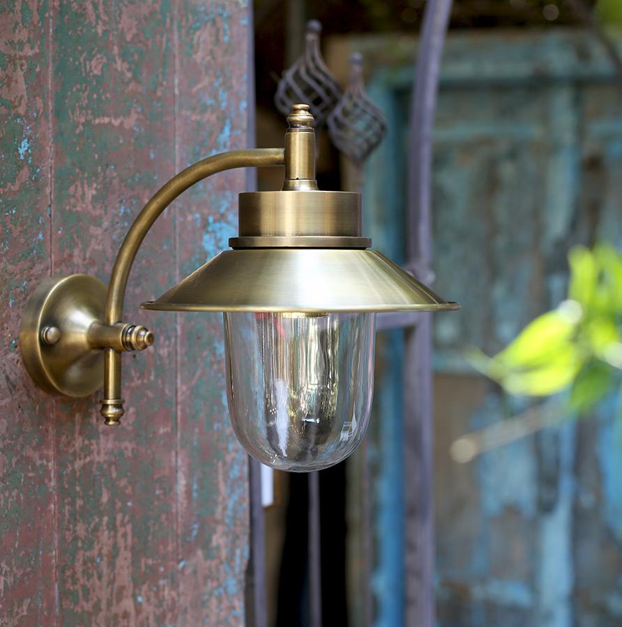 מנורת חוץ פליז דגם B12