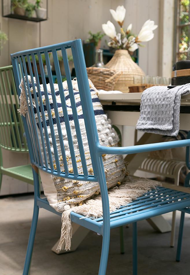 כסא אלומיניום צבעוני