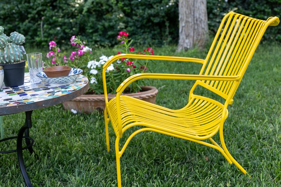 כסא נוח אלומיניום