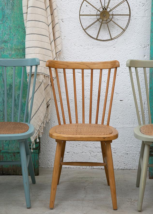 כסא כפרי לפינת אוכל