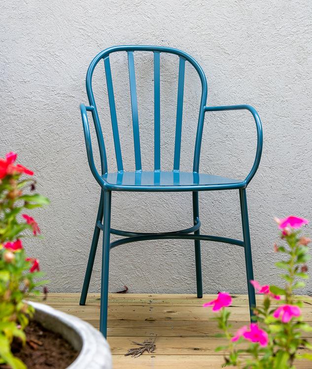 כסא חוץ מאלומיניום