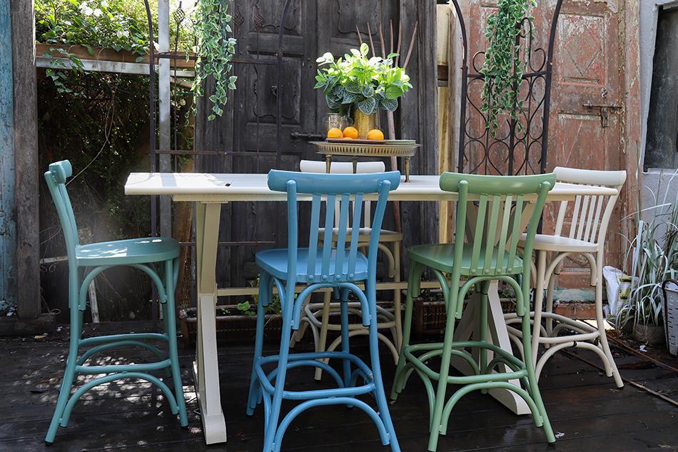 כסאות בר לגינה