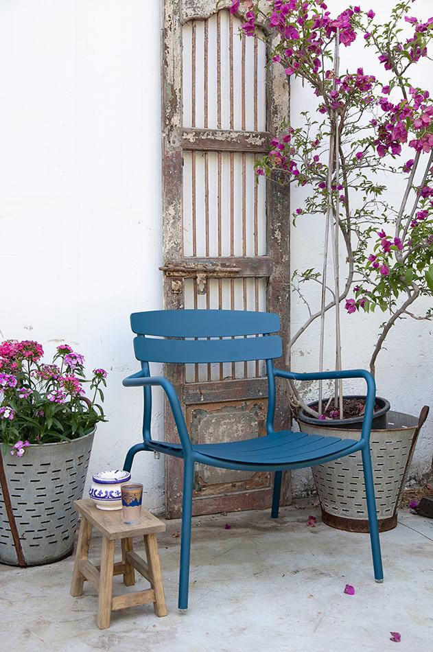 כיסא רויאל כחול