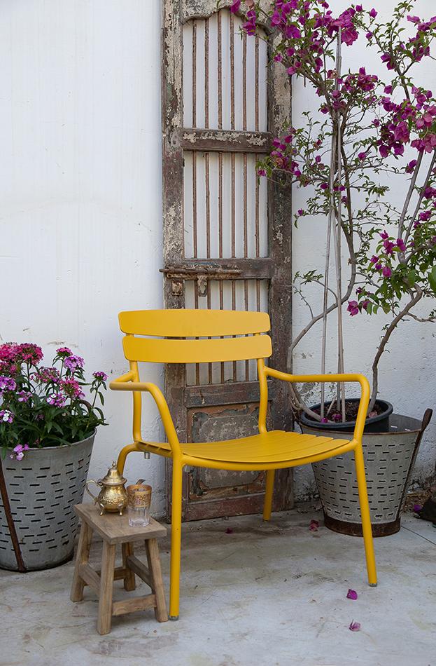 כיסא רויאל צהוב