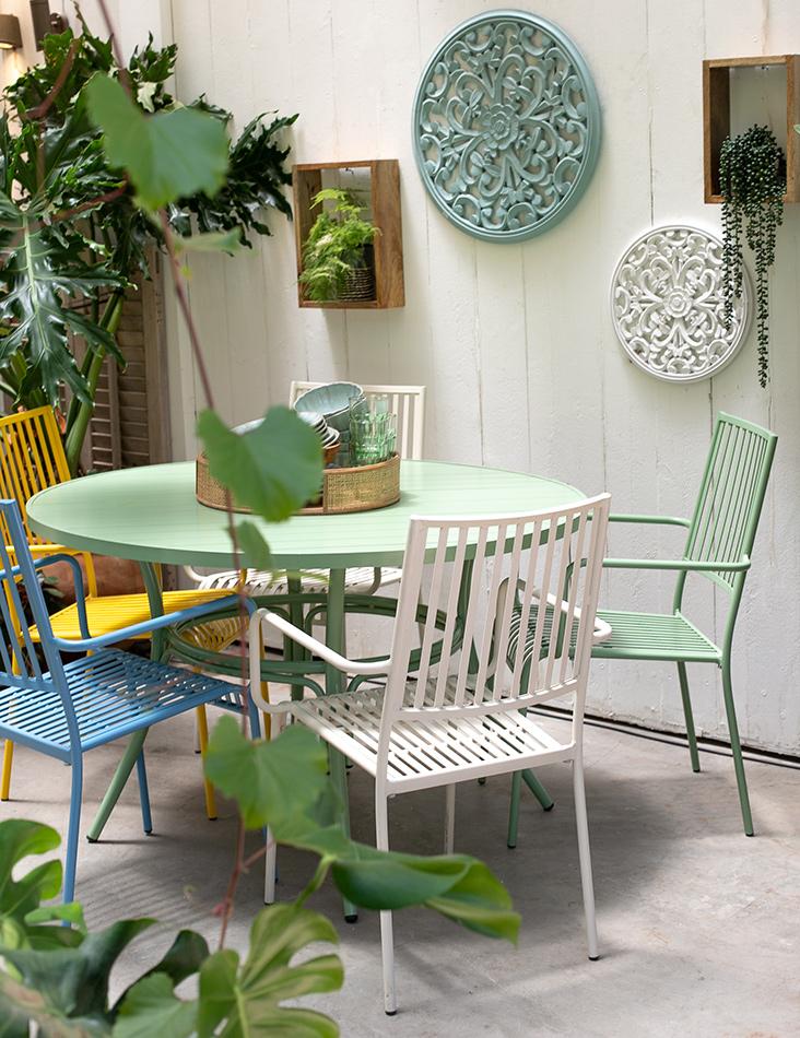 שולחן בר ירוק