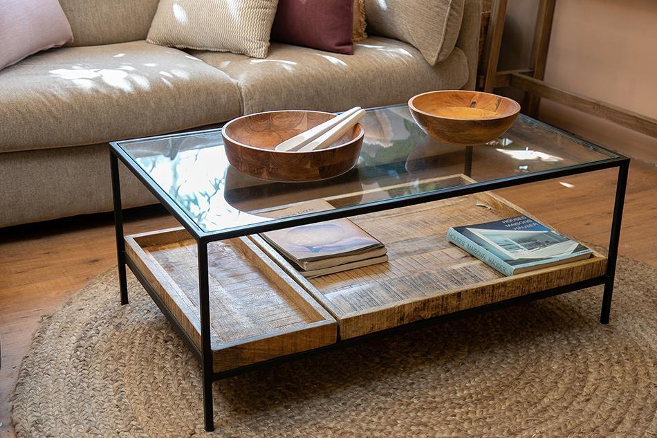 שולחן זכוכית 3